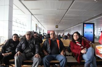 All set for the flight at T3, IGI, New Delhi