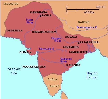 India under Chandragupta Maurya