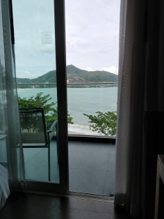 The sea from our room at Novotel Kamala Beach