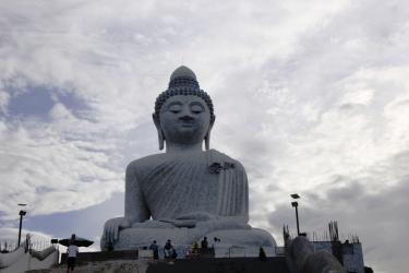 Big Buddha - up close