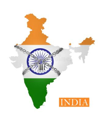 india-shutdown-chain-padlock-lock-down-india-flag-india-shutdown-chain-padlock-lock-down-india-flag-176814680